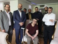 عیادت مدیران تلویزیون از رضا رویگری+ عکس