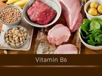 مقادیر ویتامین B6 موجود در 100 گرم مواد غذایی