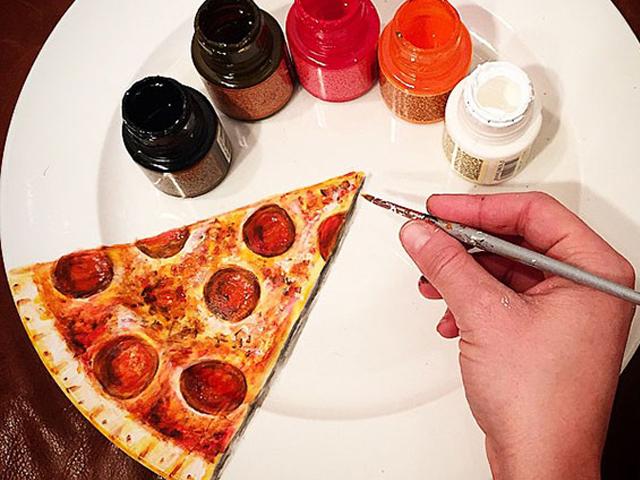 نقاشی های خوردنی