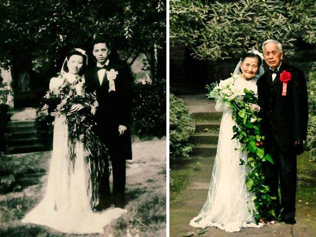 بازآفرینی روز ازدواج پس از هفتاد سال