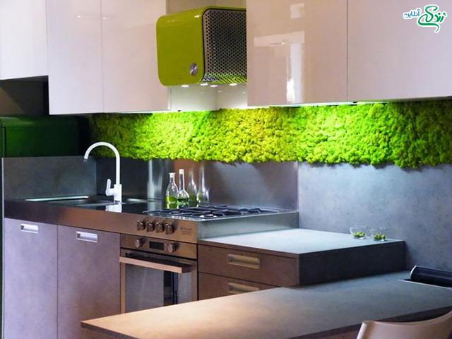 طراحی با سبزه