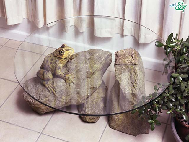 میز با طرح حیوانات