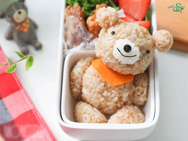 تزئین غذای کودک