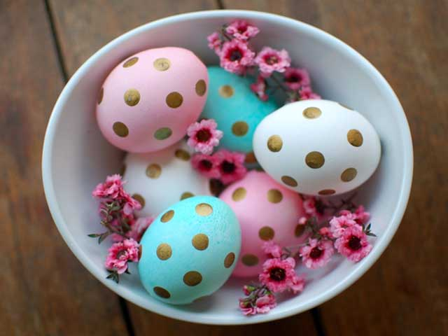 تخم مرغ رنگی های زیبا