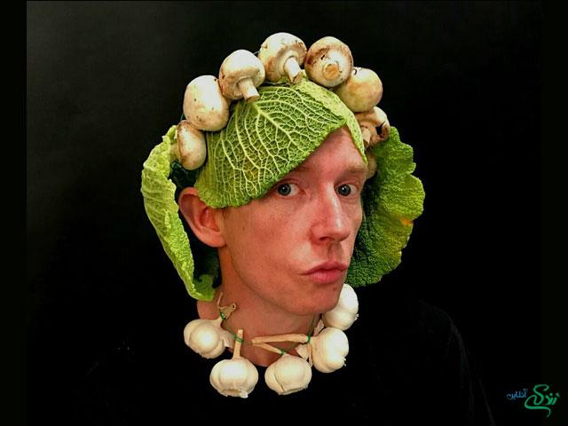 فشن مد سبزیجات