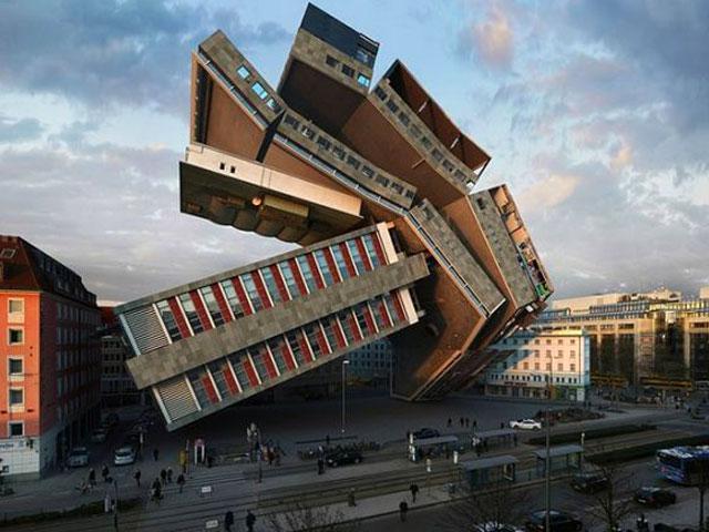 ساختمان های عجیب و غریب