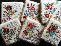 نقاشی روی شیرینی