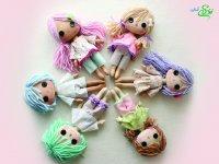 عروسک های زیبای نمدی