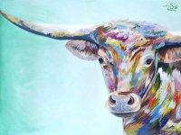 نقاشی رنگ روغن از حیوانات