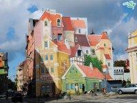 نقاشی خیابانی روی دیوار