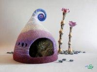 ایده های خلاقانه ساخت خانه برای گربه ها