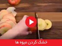 خشک کردن میوه ها