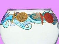تزئین تنگ ماهی هفت سین