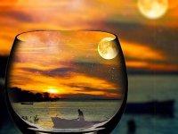 طبیعت از پشت شیشه