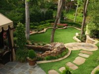 طراحی باغچه خانه