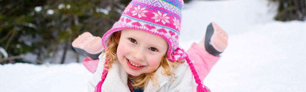 بازی و شادی در فصل زمستان