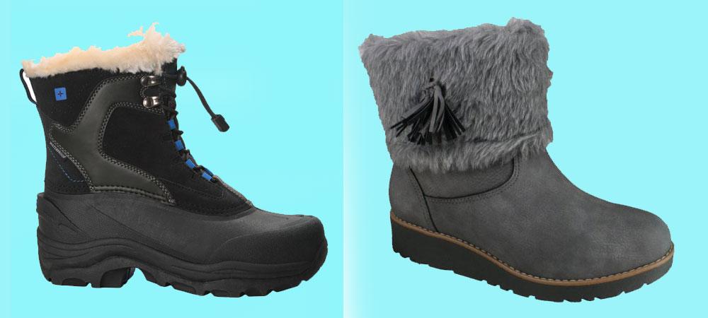 بوت و کفش زمستانی مناسب برای کودکان