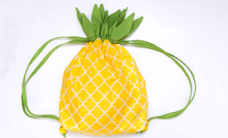 دوخت پشتی سنتی انجمن راسخون - کوله پشتی بنددار آناناسی