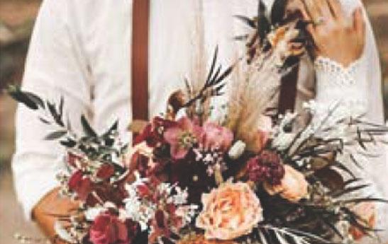 ایدههای تم عروسی پاییزی