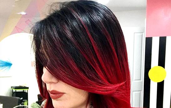 جدیدترین مدل آمبره مو ؛ آمبره بلوند قرمز