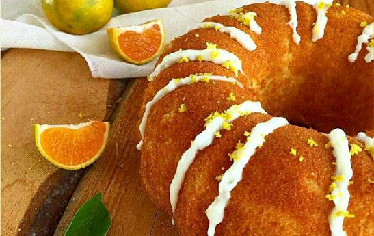 طرز تهیه سه نوع کیک نارنگی