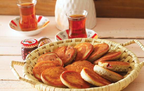 کلوچه توت فرنگی و پرتقال