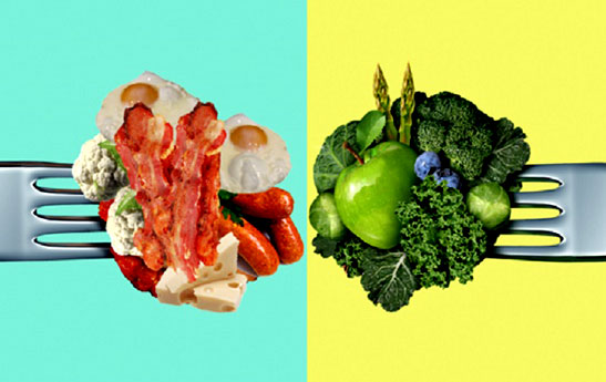 گیاهخوار در برابر گوشت خوار، کدام رژیم برای بدن سالم تر است؟