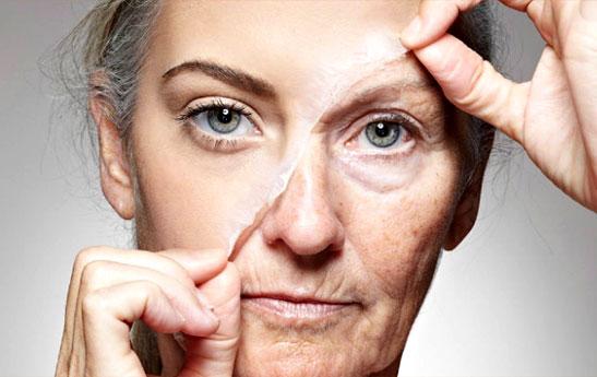 پیری زودرس صورت از علت تا درمان
