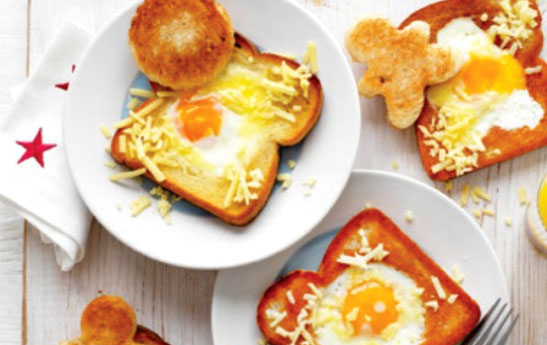 نیمروی فانتزی در نان تست (9 تا 12 ماه )