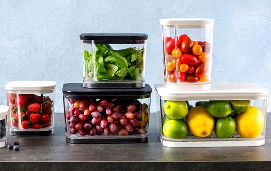 ظروف نگهداری مواد غذایی را سر و سامان دهید