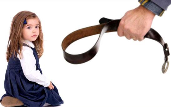 پرخاشگری، پیامد تنبیه کودکان
