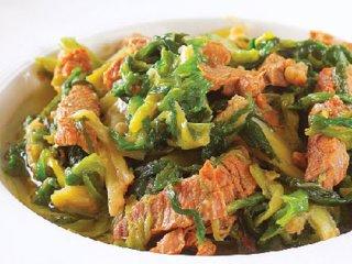 خوراک گوشت وپیازچه
