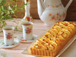تارت ایتالیایی با پنیر ریکوتا (Italian Ricottatart)