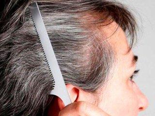 دو عامل موثر در سفید شدن موها