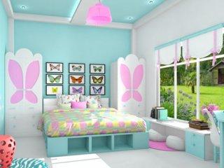 20 ایده برای دیوار اتاق دخترانه