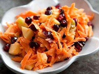 طرز تهیه دو نوع سالاد هویج