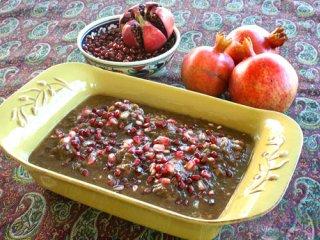 طرز تهیه خورش انار، شام ویژه شب یلدا