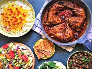 طرز تهیه خورش مرغ و انار