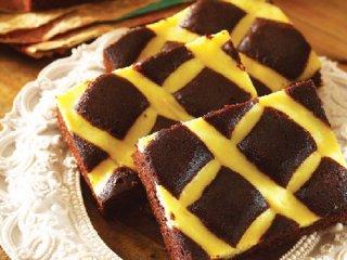 کیک شکلاتی پنیری