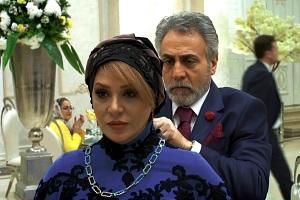 سانسور لباس تحریک آمیز نسرین مقانلو در سریال دل + عکس