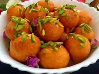 طرز تهیه لگیمات + شیرینی خوشمزه و پرطرفدار عربی