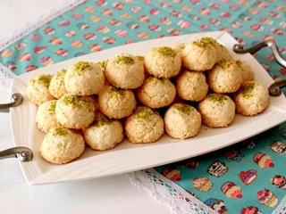 طرز تهیهی شیرینی نارگیلی؛ مخصوص عید نوروز
