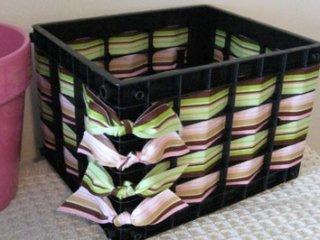 15 ایده خلاقانه برای استفاده مفید از سبد میوه پلاستیکی