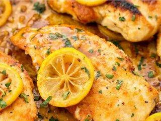 طرز تهیه خوراک مرغ لیمویی