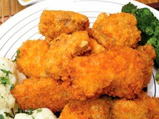مرغ سوخاری زنجفیلی