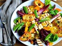 ۶ سالاد متنوع با سبزیجات بهاری