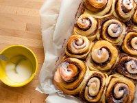 نان دارچینی ؛ یک نان با طعمی متفاوت و عالی برای صبحانه +طرز تهیه