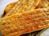 پخت نان بربری در خانه ؛ نان محبوب ایرانی ها