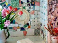 12 ایده جالب و ارزان برای تزئین دیوارهای ساده