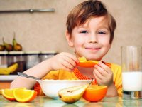 درس های غذایی برای بچه ها